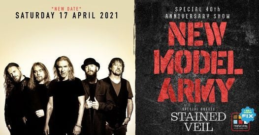 New Model Army 40th Anniversary show in Thessaloniki