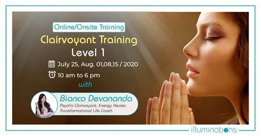 OnlineOnsite Clairvoyant Training Level 1