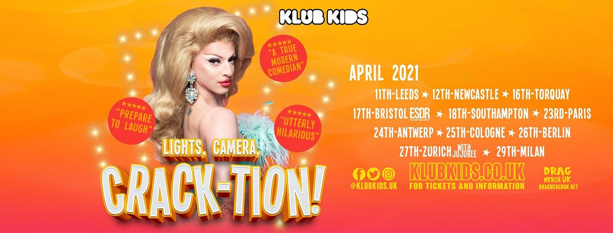 Klub Kids Southampton  presents MIZ CRACKER (Crack-tion) ages 14+, 18 April | Event in Southampton | AllEvents.in