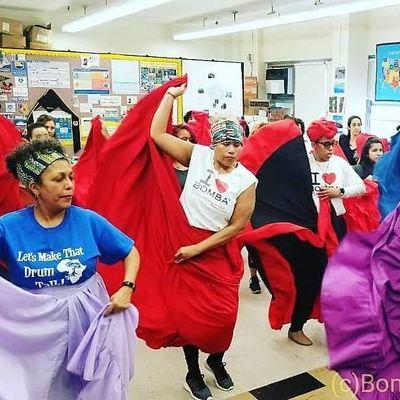 FREE BOMBA DANCE CLASS Fall 2021
