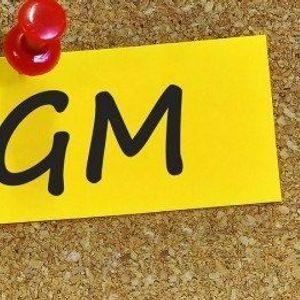 Annual AGM  Jahreshauptversammlung