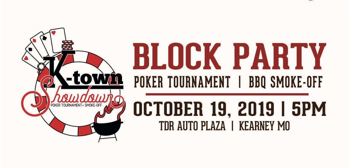 K-Town Showdown Block Party-Poker Tournament-Smoke-Off
