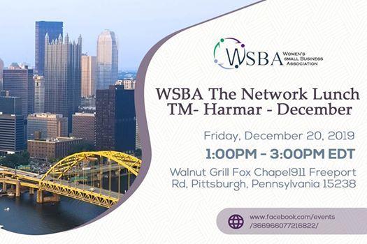 WSBA The Network Lunch TM- Harmar - December