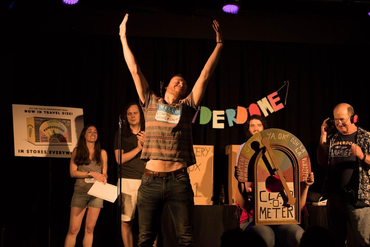 PUNDERDOME®: NYC's (and the Globe's) Comedy PUN Show! 5/6, 6 May | Online Event | AllEvents.in