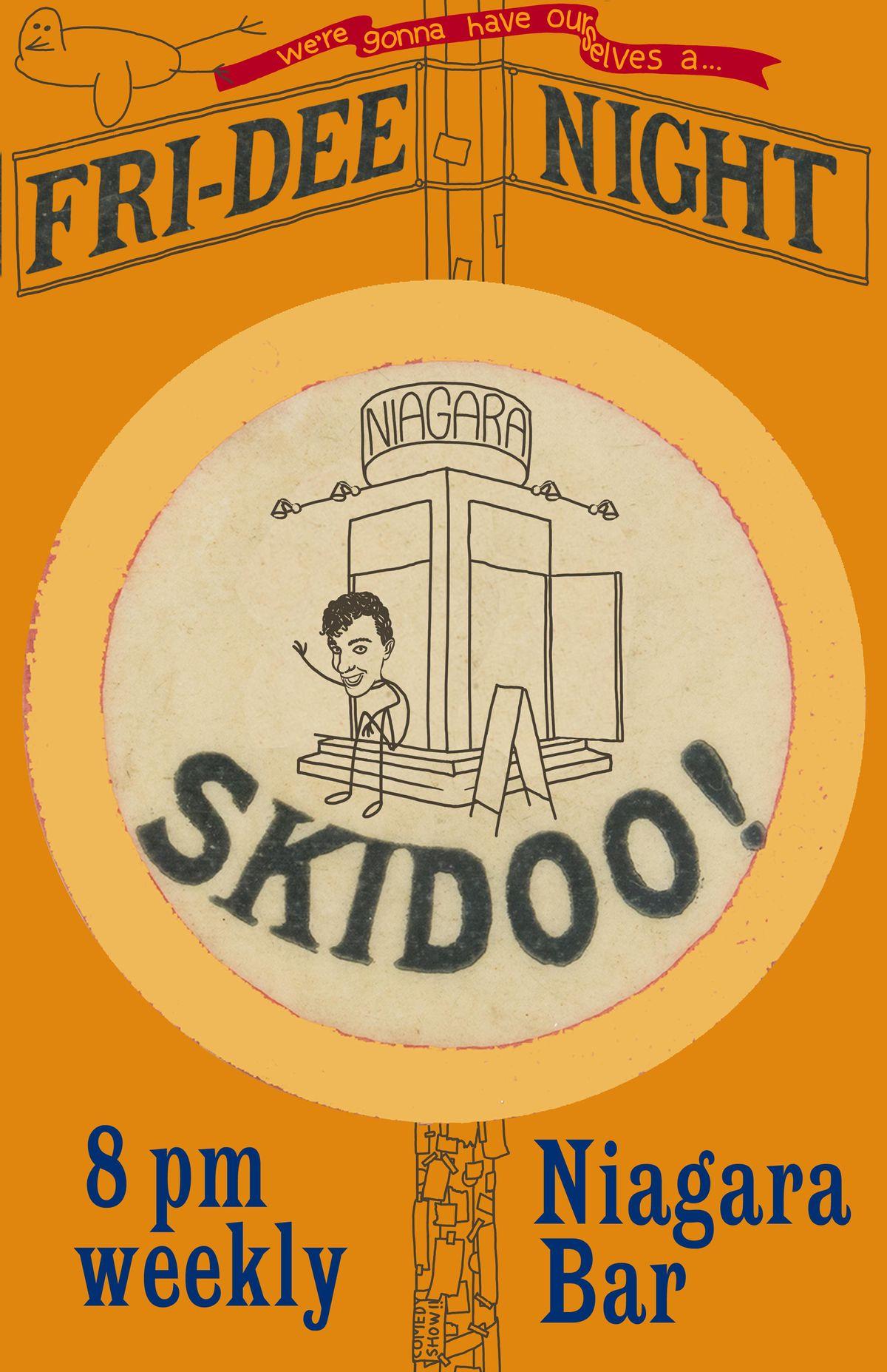 Fri-Dee Night Skidoo!, 5 November   Event in New York   AllEvents.in