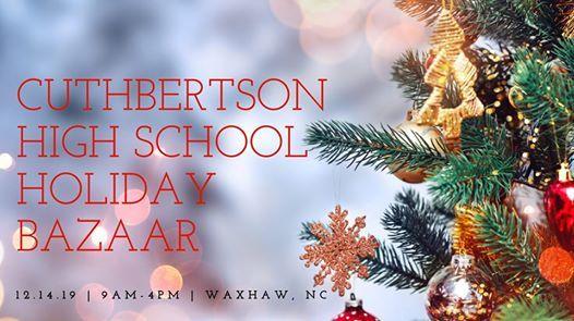 Cuthbertson High School Band Boosters Holiday Bazaar Craft Marke