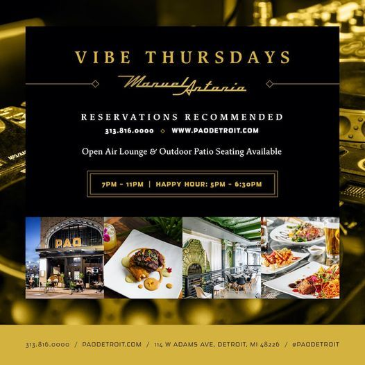 Vibe Thursdays | Event in Detroit | AllEvents.in