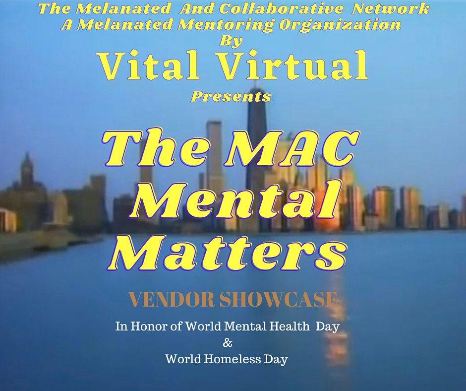 The MAC Mental Matters  Vendor Showcase, 10 October   Event in Sacramento   AllEvents.in