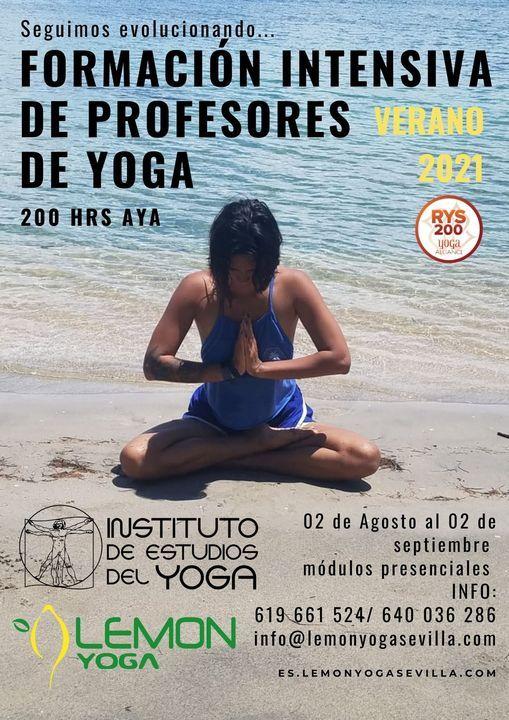 Formación INTENSIVA Verano 2021 Profesores de Yoga, 2 August | Event in Jerez De La Frontera | AllEvents.in