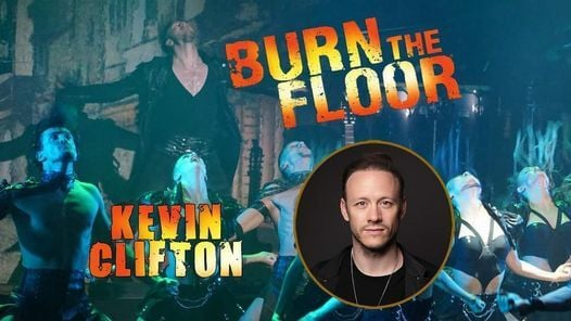Burn the Floor - Kevin Clifton | Hastings White Rock, 27 May | Event in Hastings | AllEvents.in