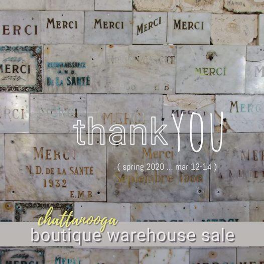 Warehouse sale 2020