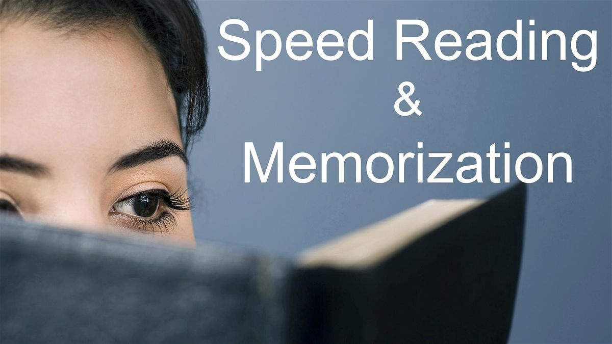 Speed Reading Memorization Class In Washington Dc At Capital Hilton Washington