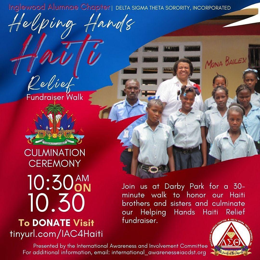 Helping Hands Haiti Relief Fundraiser Walk, 30 October | Event in Inglewood | AllEvents.in