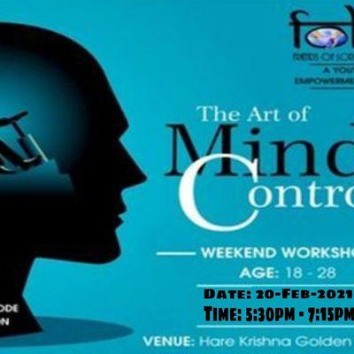 ART OF MIND CONTROL - Free Workshop at ISKCON - Hare Krishna Golden Temple