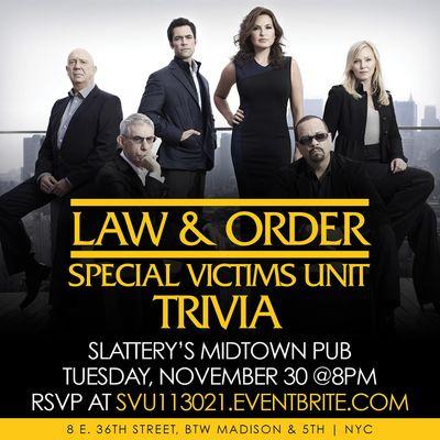 Law & Order SVU Trivia