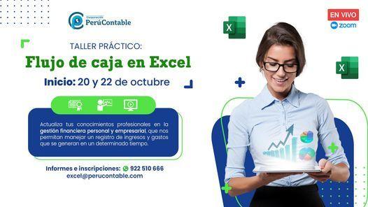 Taller Práctico: Flujo de caja en Excel, 13 October | Event in Lima | AllEvents.in