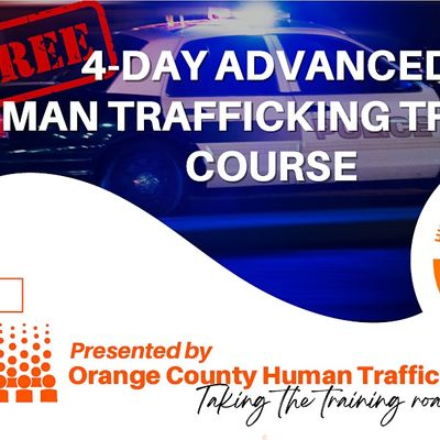 4-day Advanced Human Trafficking Training