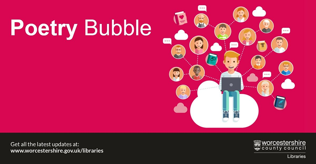 Poetry Bubble, 3 November   Online Event   AllEvents.in