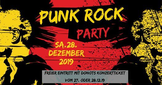 Punk Rock Party  Donots Aftershowparty  Rosenhof