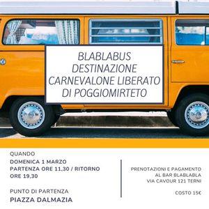 BlaBlaBus destinazione Poggiomirteto