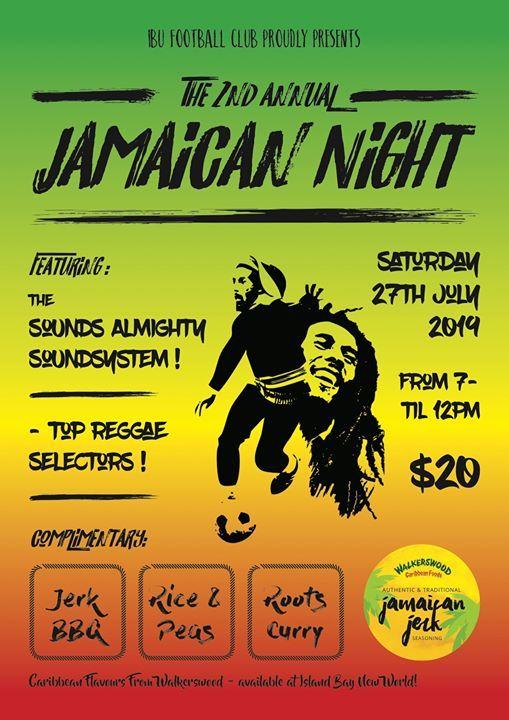 IBUFC 2nd Annual Jamaican Night