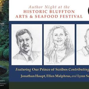 Save the Date Scribes at Bluffton Arts & Seafood Festival