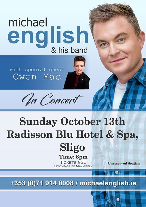 Michael English with special guest Owen Mac