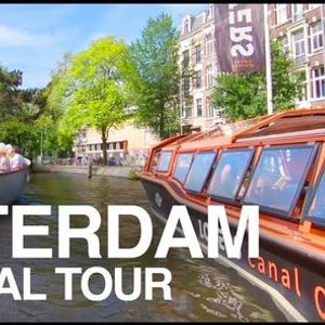 A Virtual Guided Tour Canal of Amsterdam
