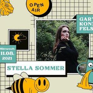 Stella Sommer  Garten Konzerte  Leipzig