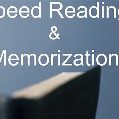 Speed Reading & Memorization Class in Toronto