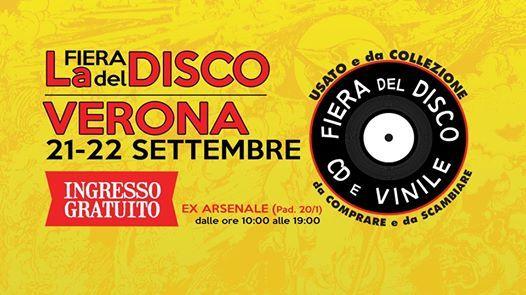 La Fiera del Disco di Verona - 21 e 22 settembre