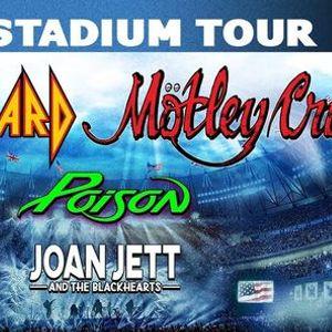 Motley Crue Def Leppard Poison & Joan Jett and The Blackhearts