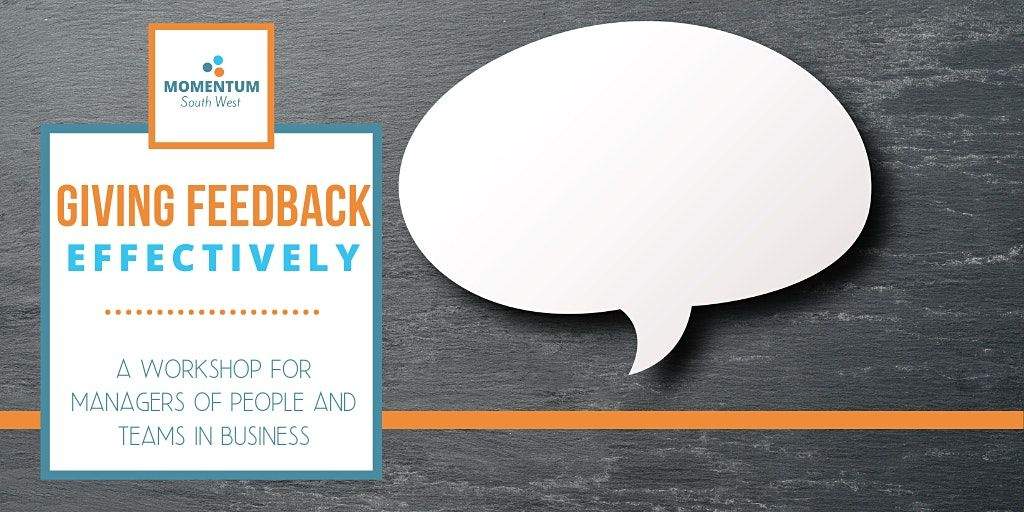 Giving Feedback Effectively