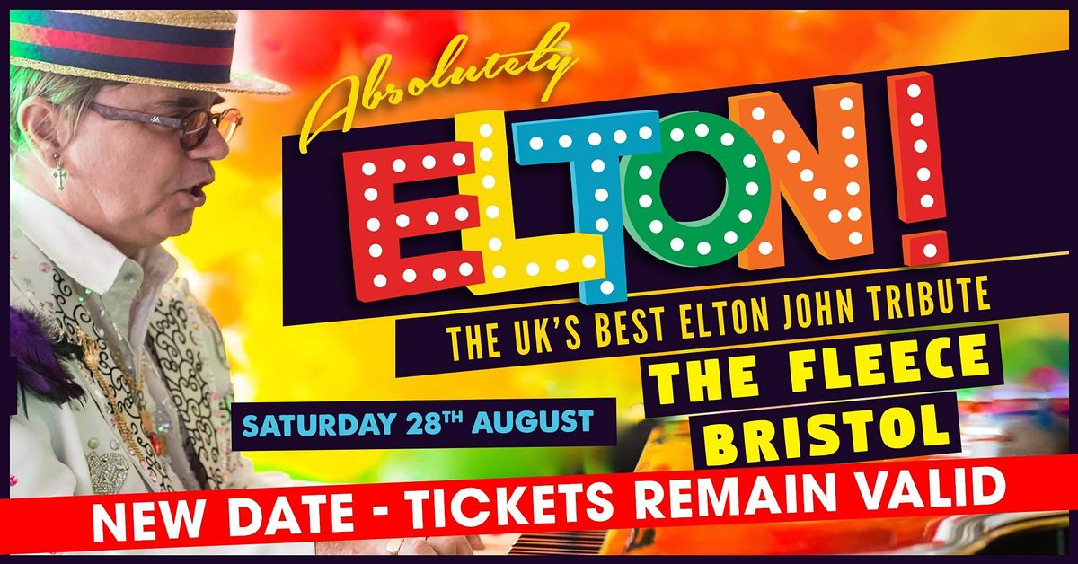 Absolutely Elton - A tribute to Elton John, 28 August | Event in Bristol | AllEvents.in