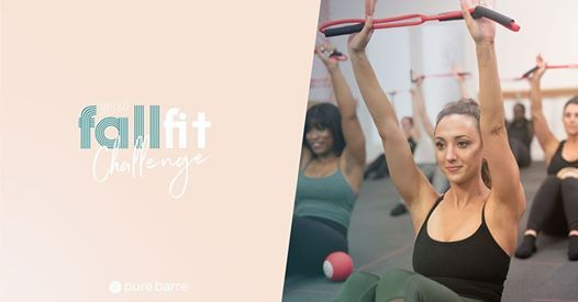 Fall Fit Challenge! 30 in 60 at Pure Barre, Holly Springs