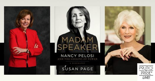 P&P Live! Susan Page   Madame Speaker with Diane Rehm   Online Event   AllEvents.in