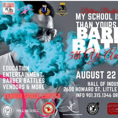MY SCHOOL IS BETTER THAN YOURS STUDENT BARBER BATTLE  5TH YEAR ANNIVERSARY