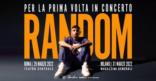 Random in concerto a Roma, 20 November   Event in Rome   AllEvents.in