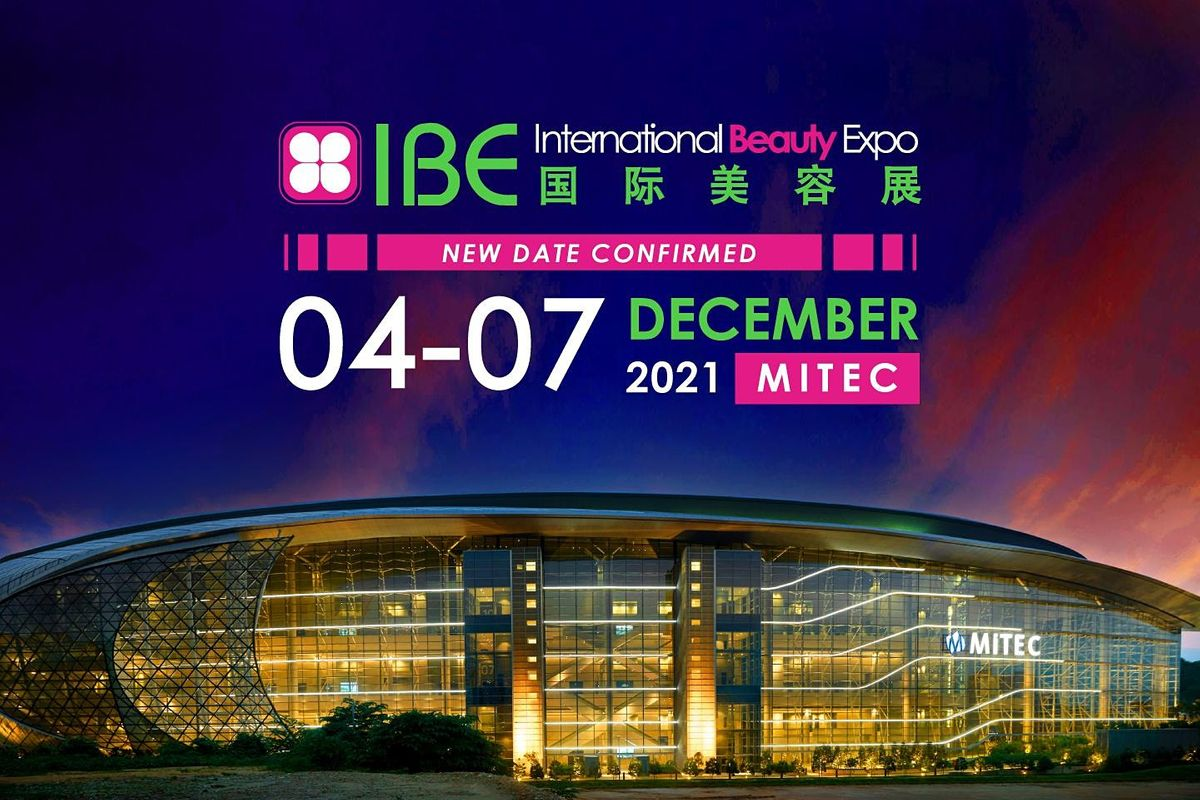 IBE International Beauty Expo 2021, 4 December   Event in Kuala Lumpur   AllEvents.in