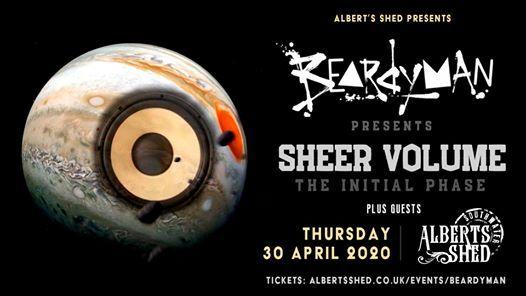 Beardyman Sheer Volume Tour  Alberts Shed Southwater Telford