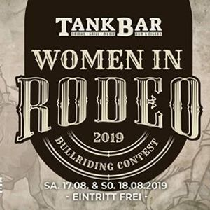 1. Leipziger Women in Rodeo Bullriding Contest