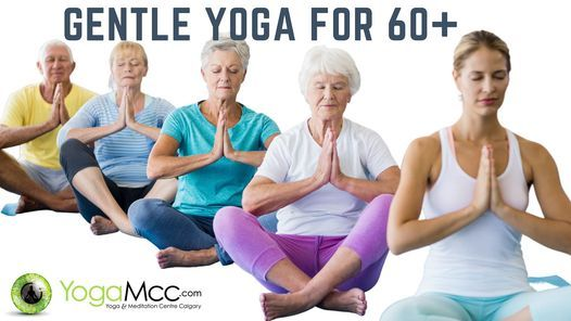 Gentle Yoga for 60+ [Virtual Registered] | Event in Calgary | AllEvents.in