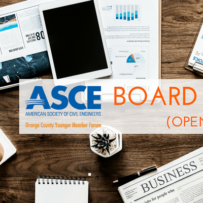 ASCE OC YMF - October 2021 VIRTUAL Board Meeting (OPEN TO ALL)