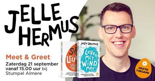 Ontmoet & groet Jelle Hermus (Free Hugs)