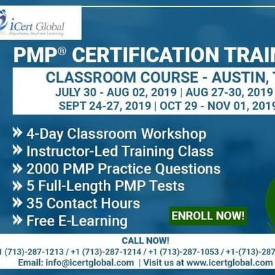 PMP Certification Training In Austin TX USA  4-Day (PMP) Boot Camp