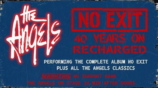 No Exit - 40 Years On at The Triffid, Newstead