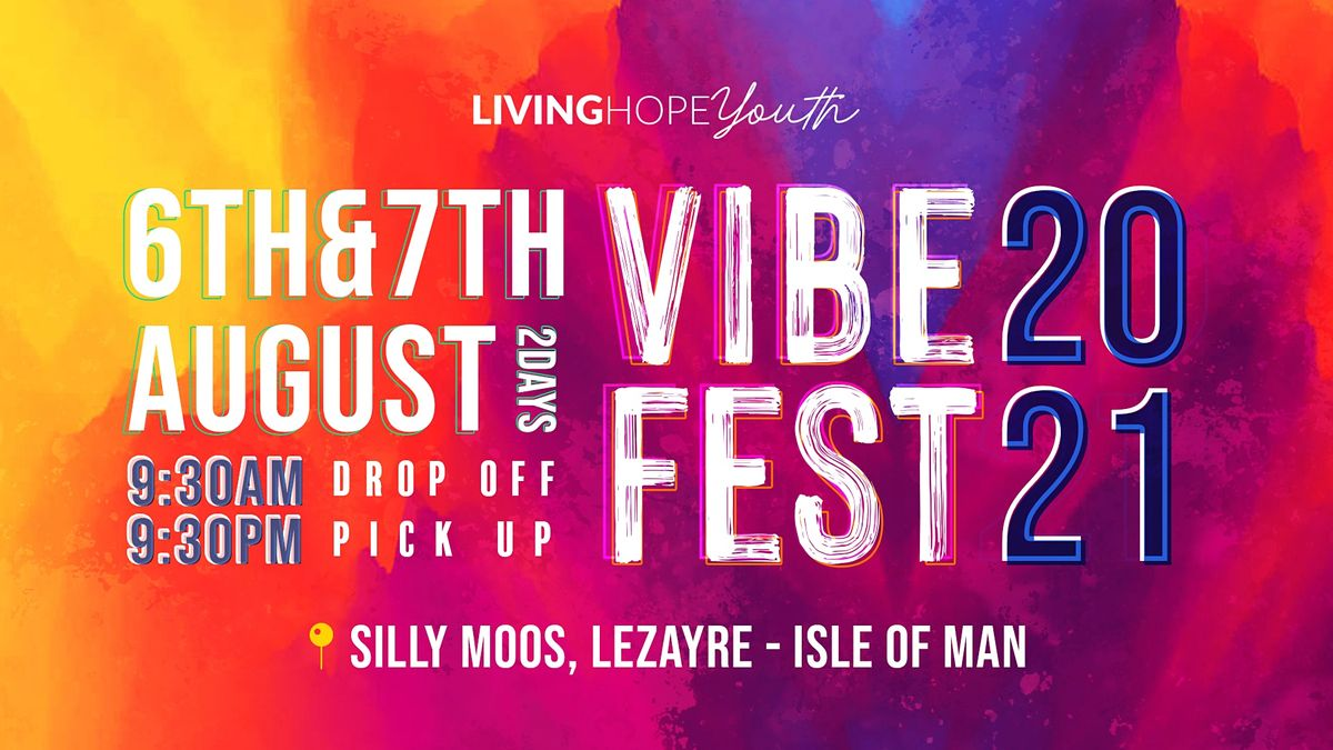 VIBE FEST 2021, 5 August | Event in ramsey | AllEvents.in
