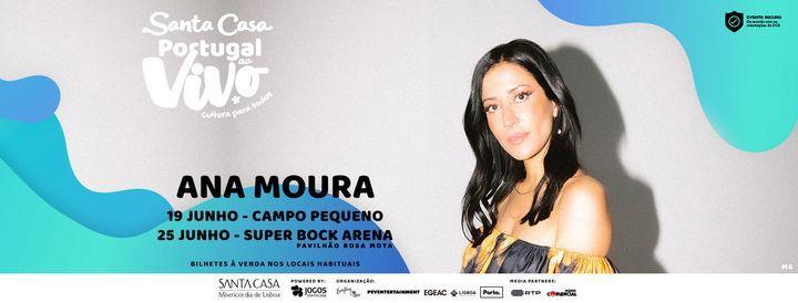 ANA MOURA - SANTA CASA PORTUGAL AO VIVO, 19 June | Event in Queluz | AllEvents.in