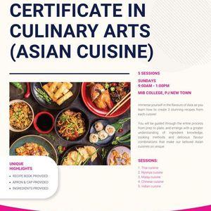 Culinary Arts (Asian Cuisine)