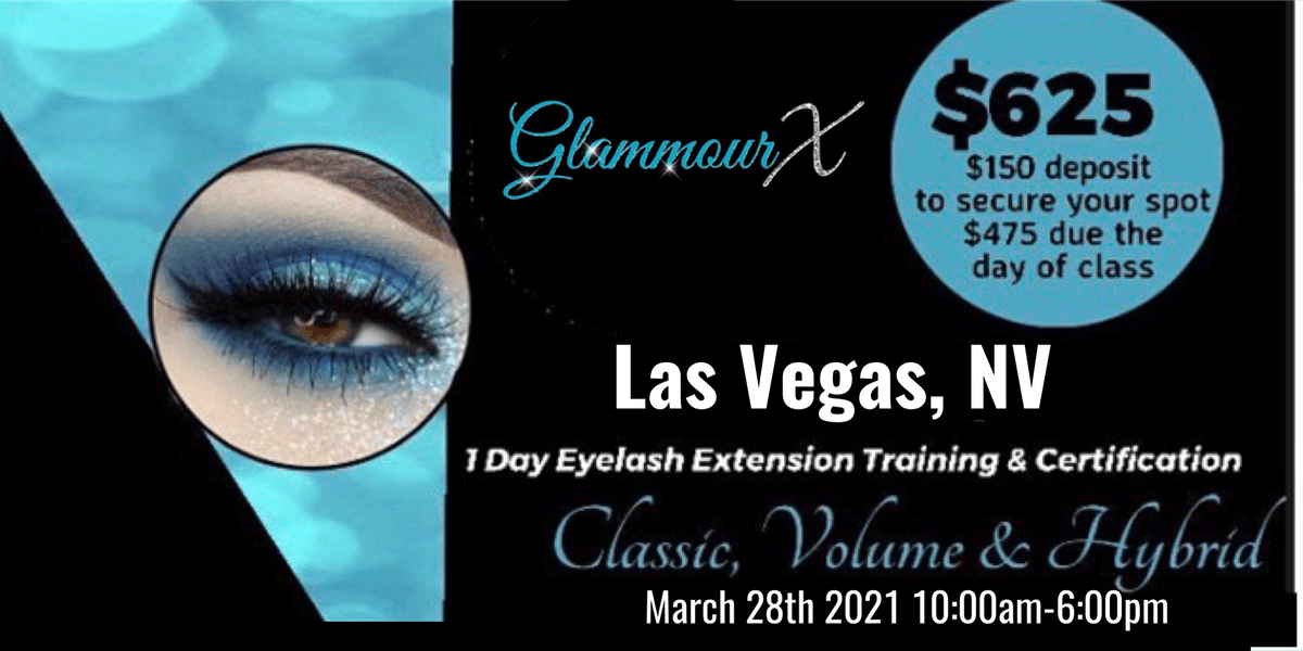 Las Vegas, NV Beginners Lash Training Classic Volume & Hybrid, 28 March | Event in Las Vegas | AllEvents.in